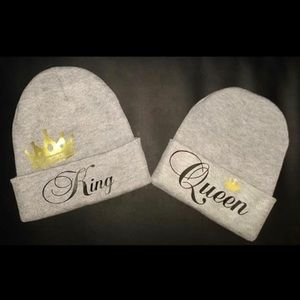 King and Queen Beanie Set!